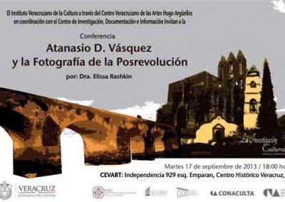 Atanasio D. Vásquez y la fotografía de la posrevolución