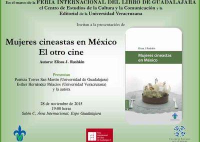 Mujeres cineastas en México en la FIL