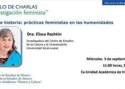 Prácticas feministas en las humanidades